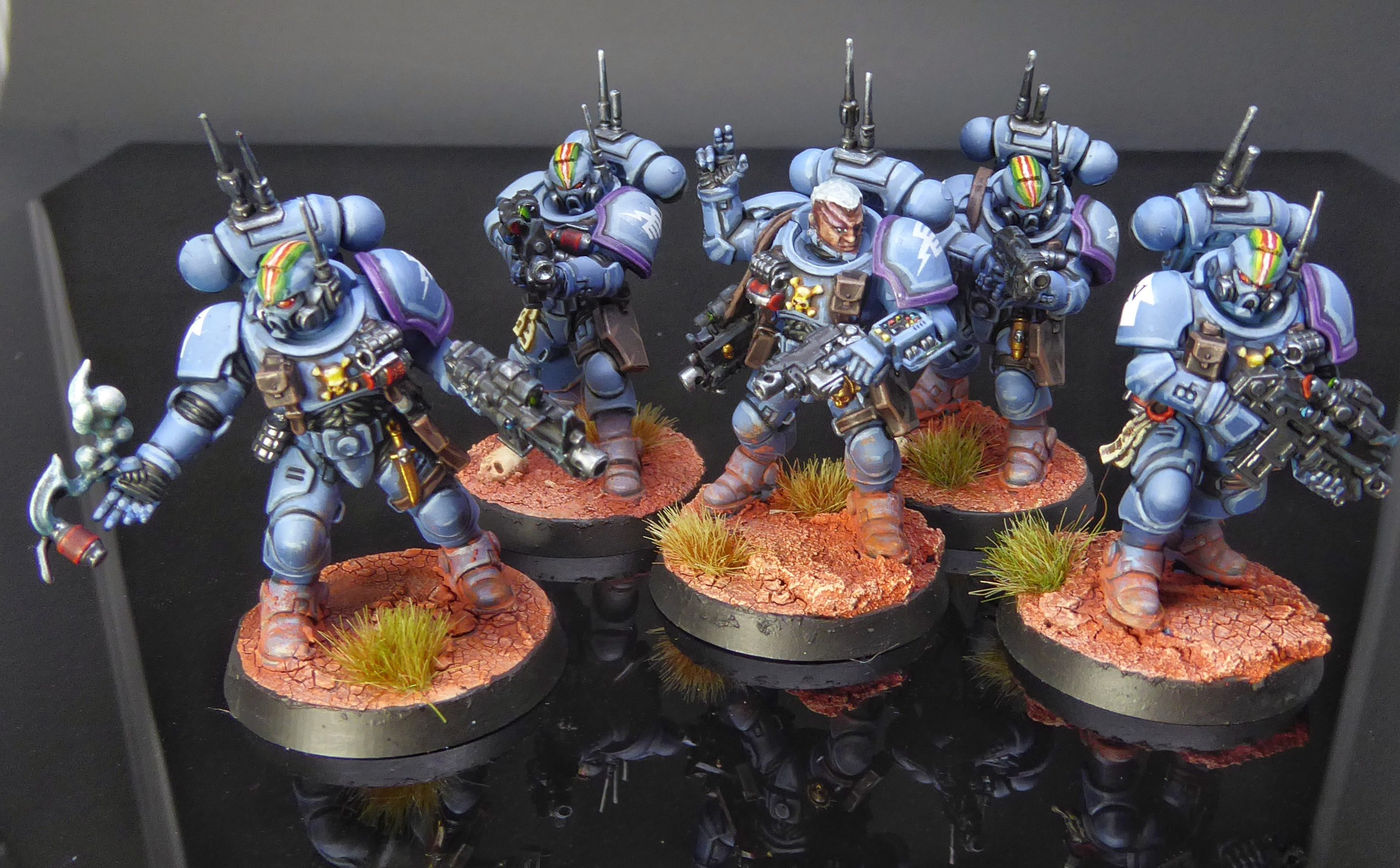 Rainbow Warriors Primaris Infiltrators