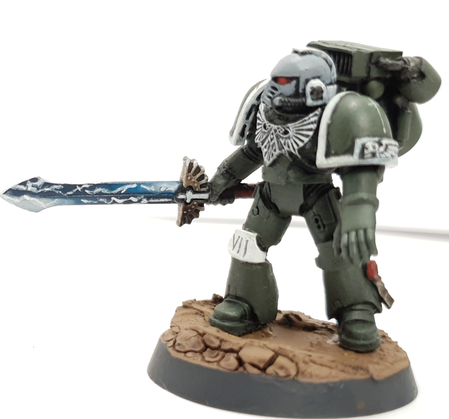 Sword of Davion Space Marine Assault Marine Veteran Sergeant