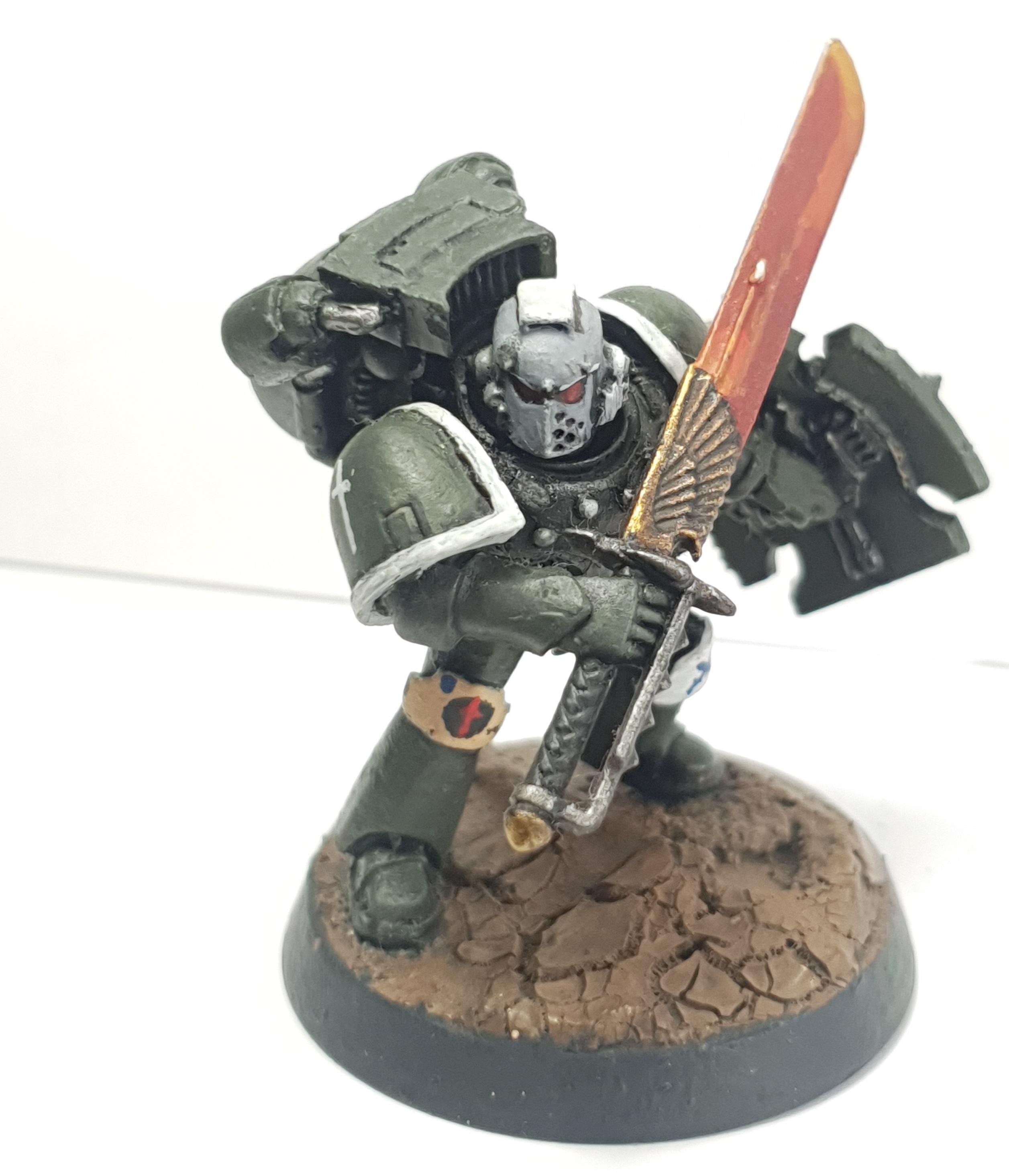 Sword of Davion Space Marine Vanguard Veteran Squad Sergeant