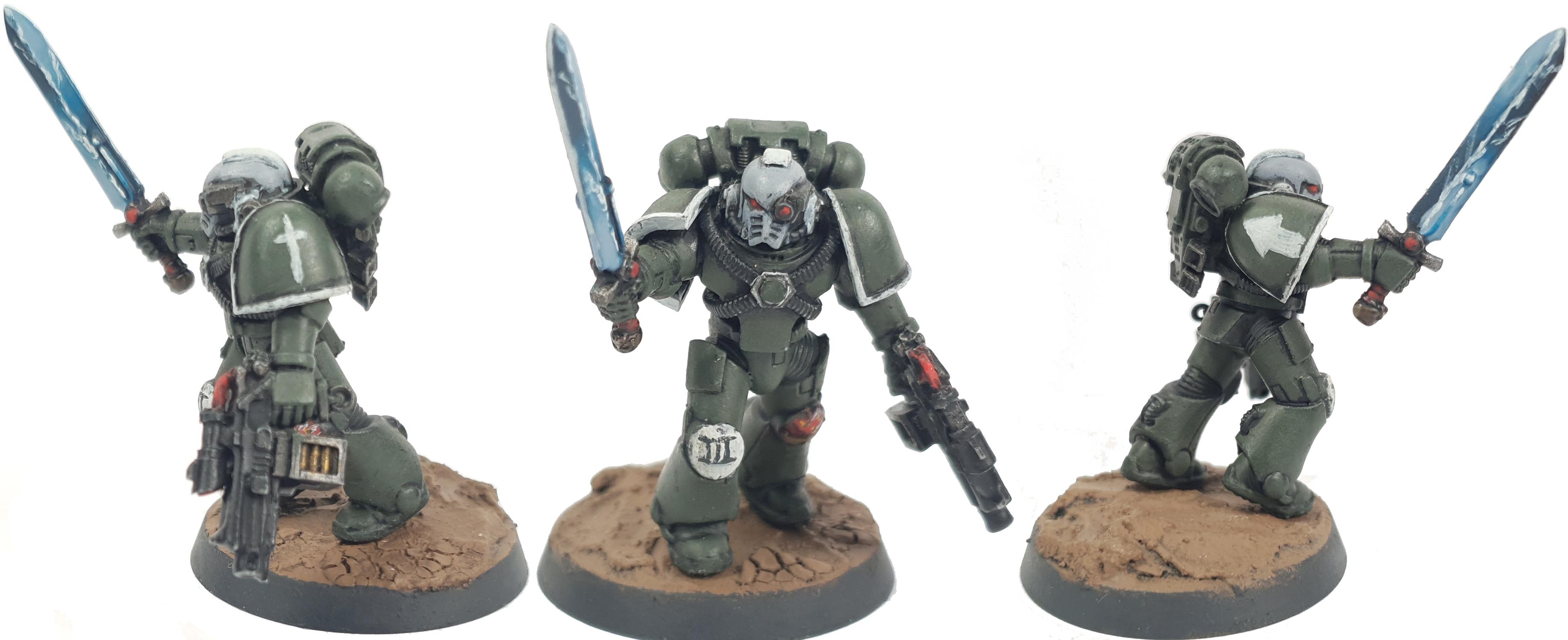 Sword of Davion Space Marine Tactical Squad Veteran Sergeant