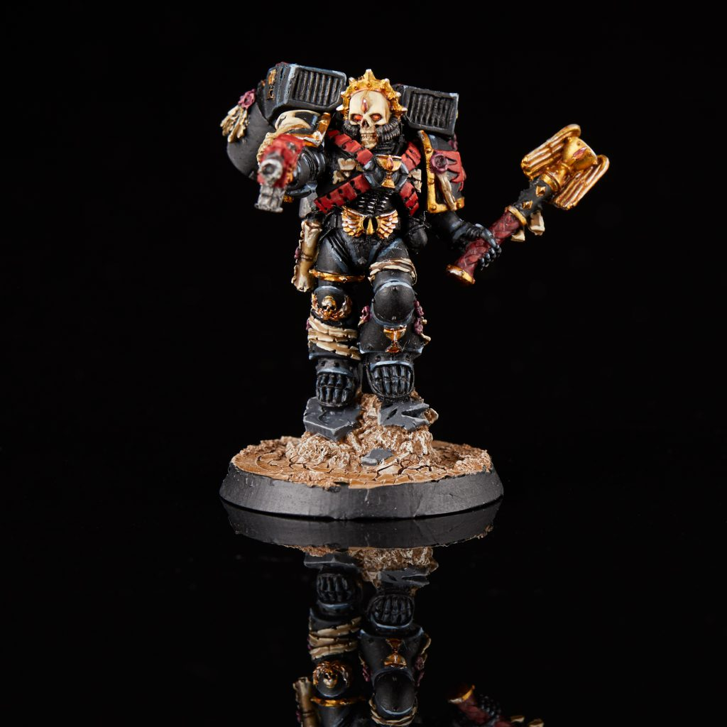 Blood Angels Chaplain Lemartes