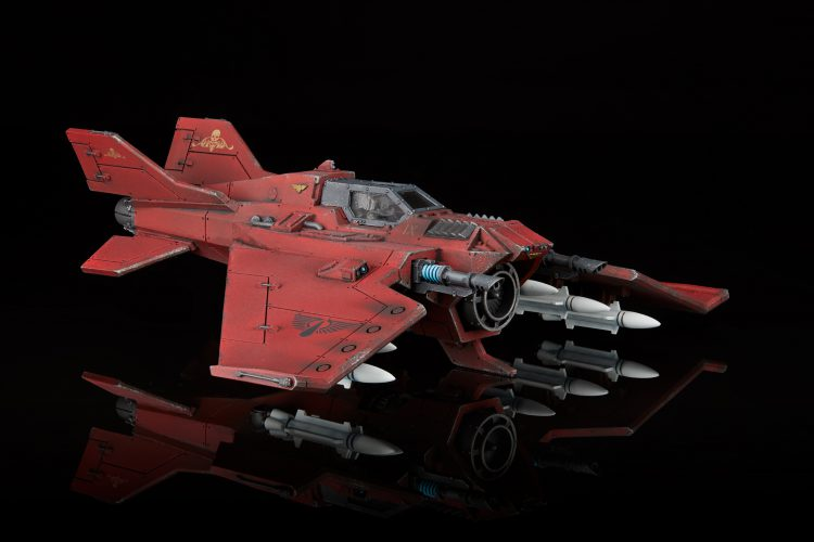 Blood Angels Lightning Fighter