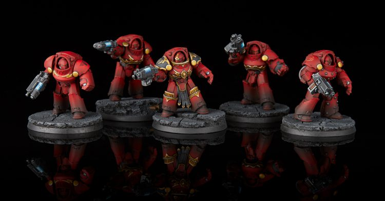 Blood Angels Tartaros Terminators