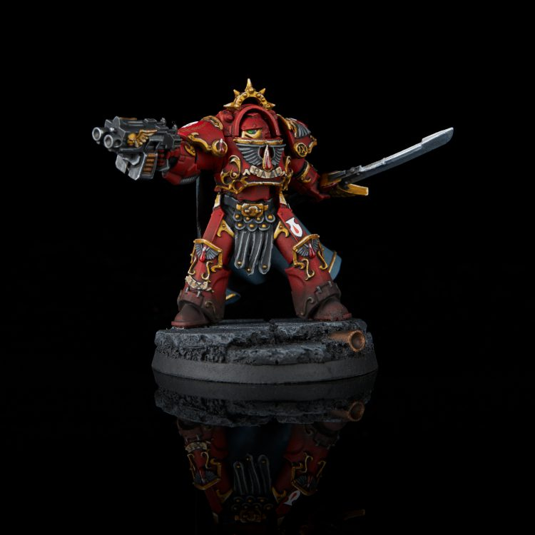 Blood Angels Terminator Praetor