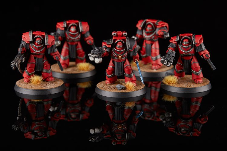 Blood Angels Cataphractii Terminators