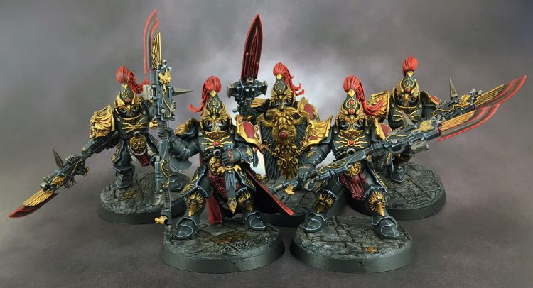 Custodes Guard Squad