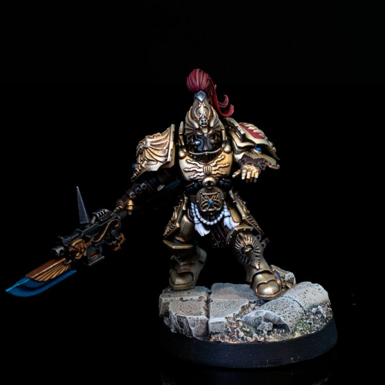 Adeptus Custodes Guardian with Guardian Spear