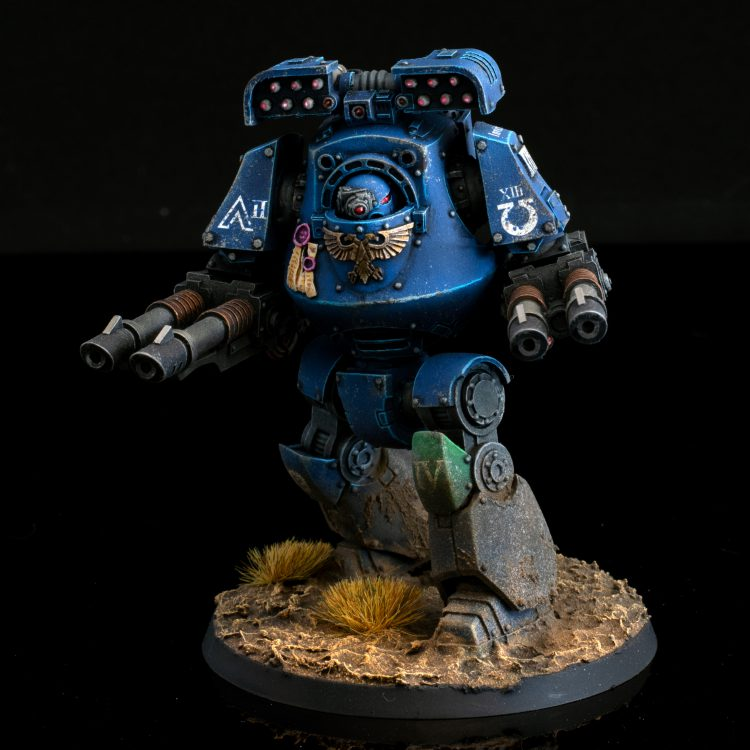 Ultramarines 4th Company Mortis Contemptor