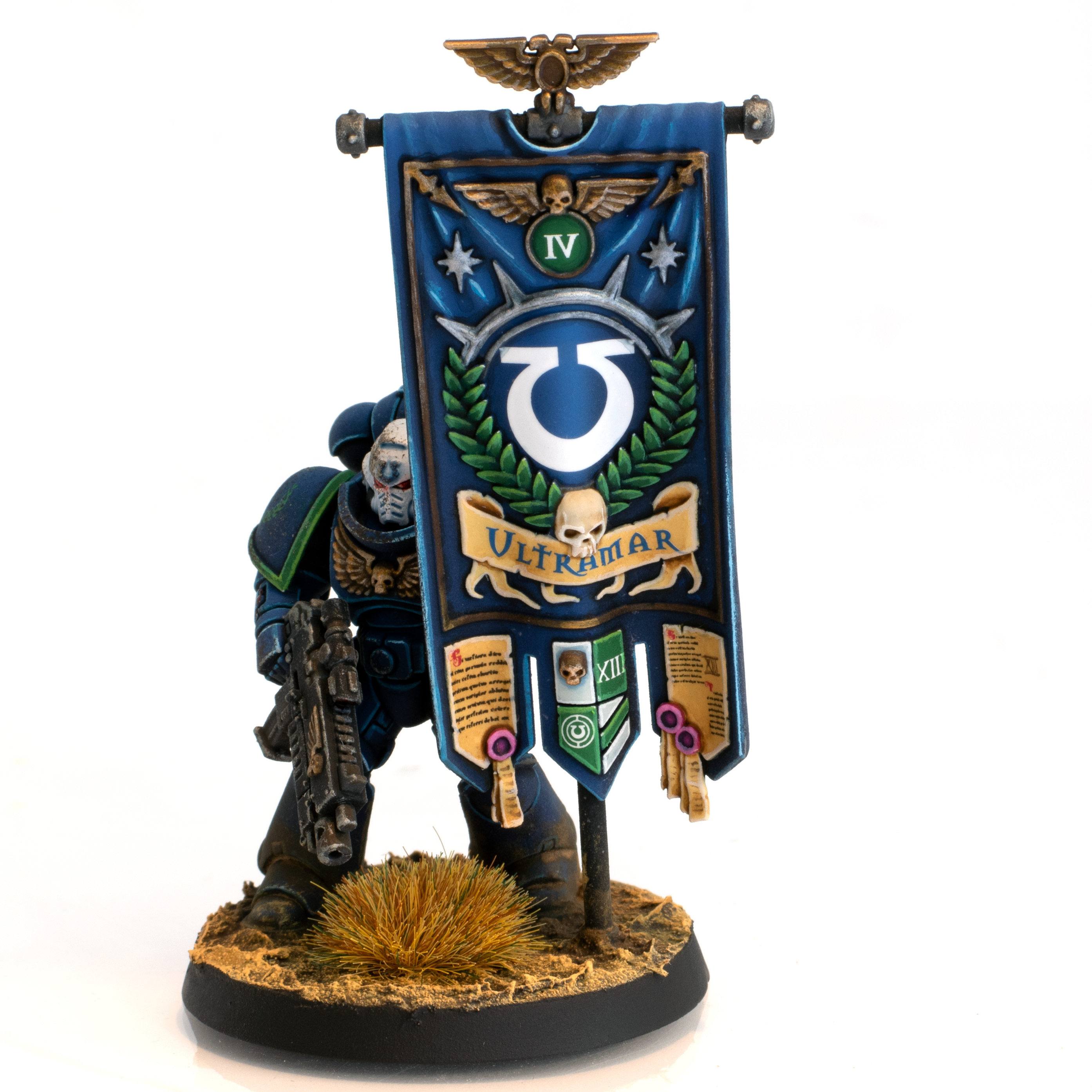 Ultramarines 4th Company Primaris Ancient