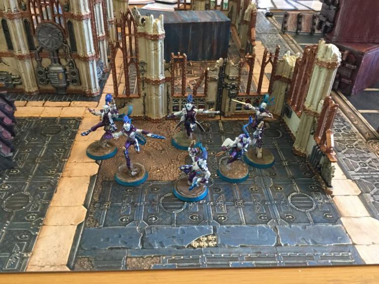 A Harlequins Troupe