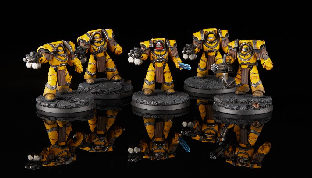 Imperial Fists Cataphractii Terminator Squad