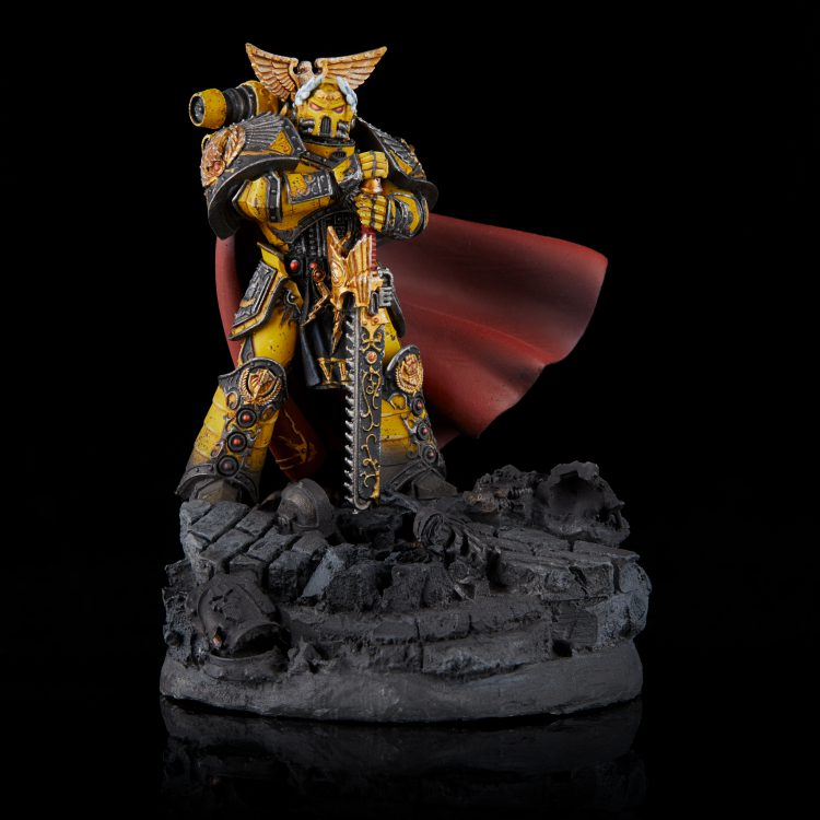 Rogal Dorn, Primarch of the Imperial Fists