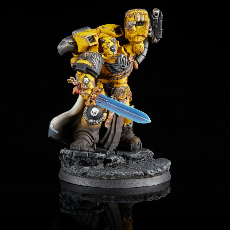 Imperial Fists Gravis Captain