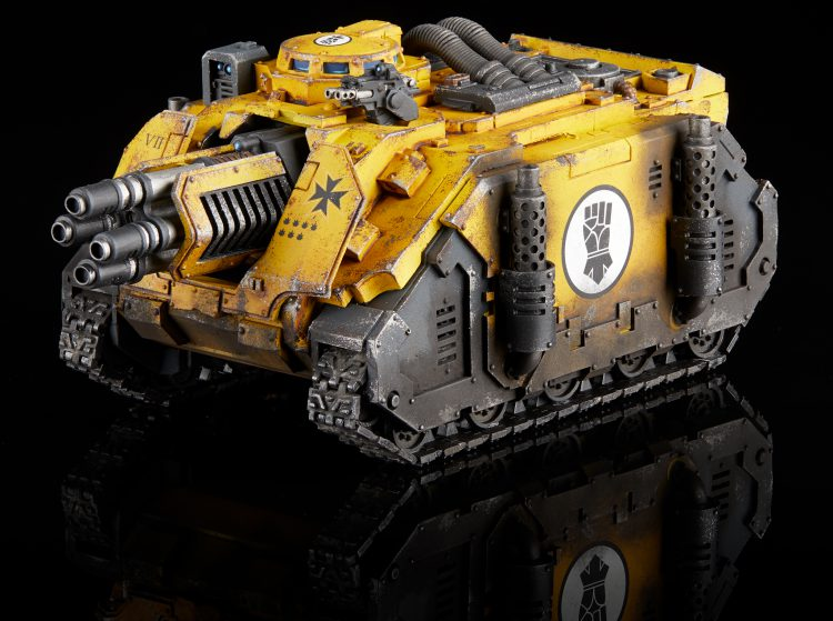 Imperial Fists Deimos Vindicator Laser Destroyer