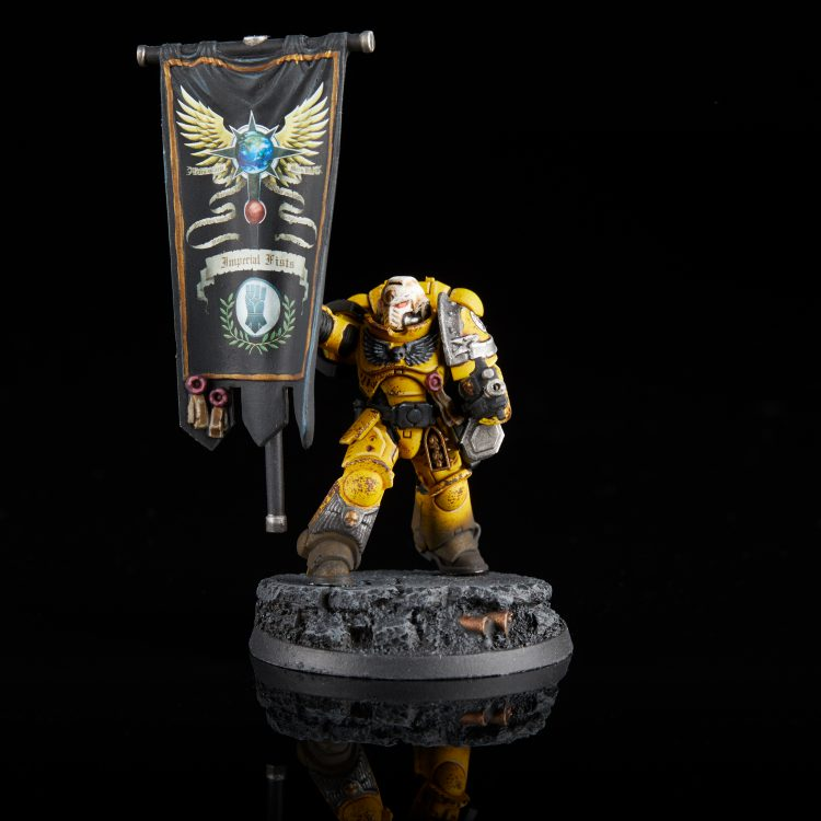 Imperial Fists Primaris Ancient