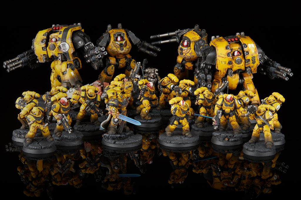 Imperial Fists Primaris Army