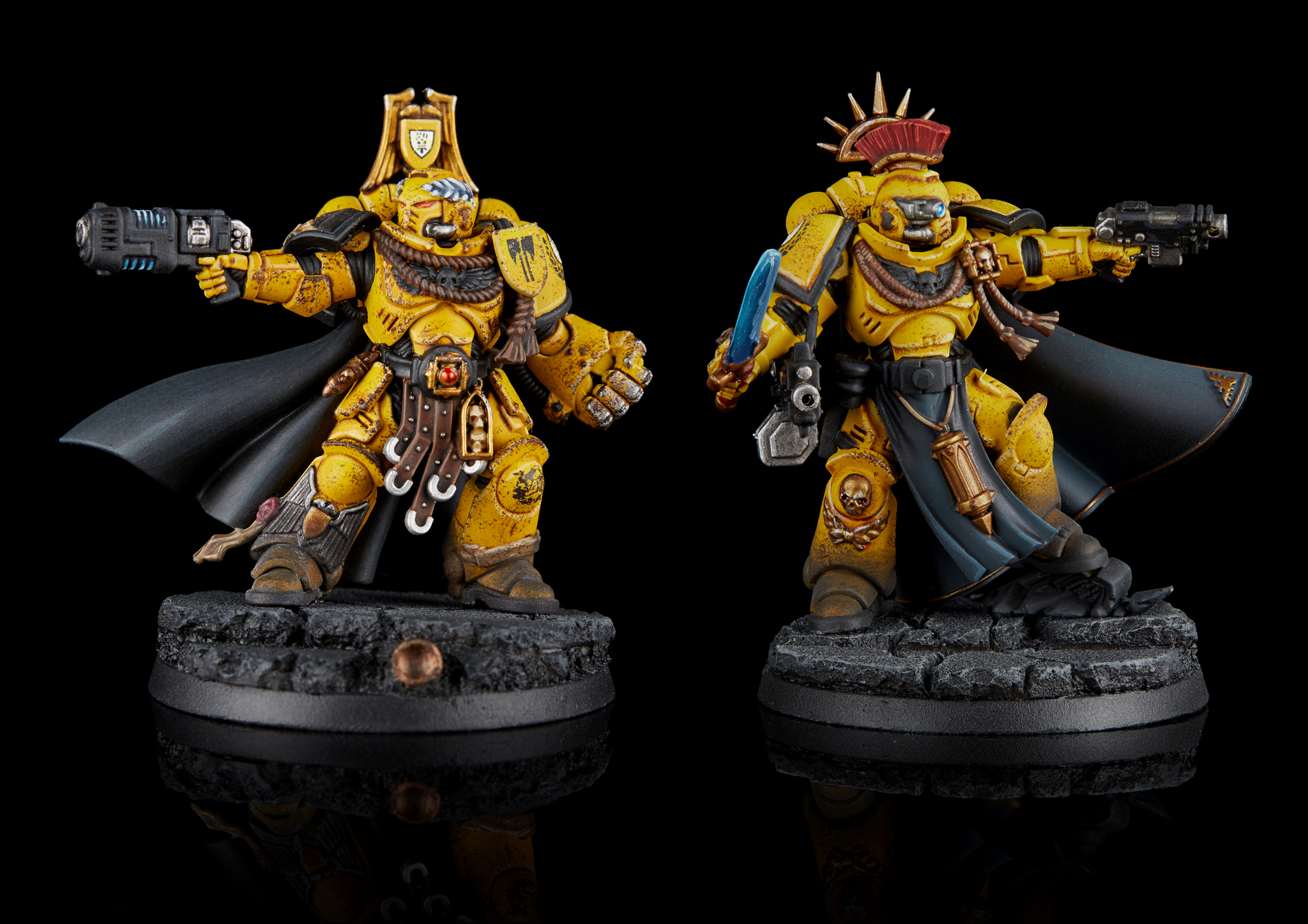 Imperial Fists Primaris Captains