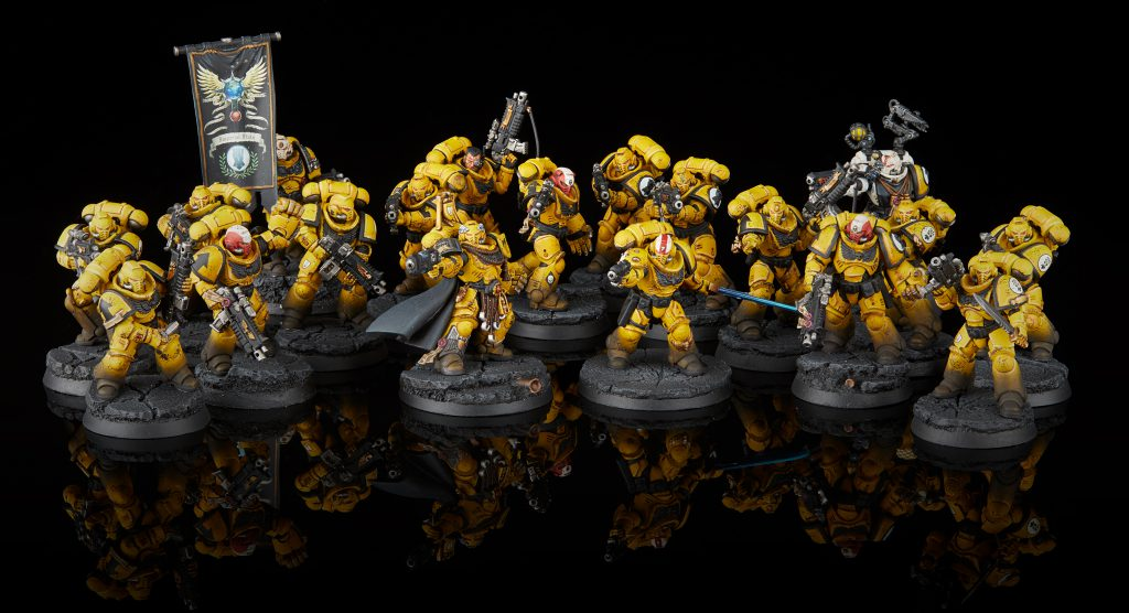 Imperial Fists Primaris Detachment