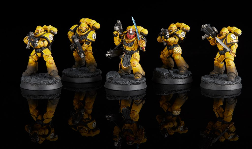 Imperial Fists Primaris Intercessors