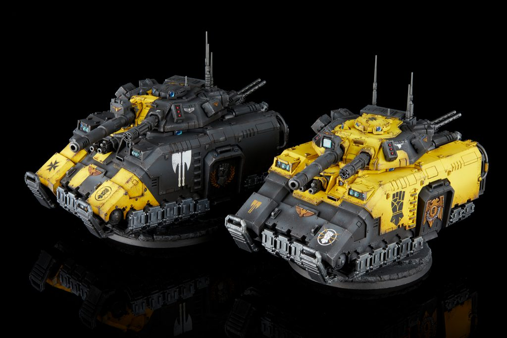 Imperial Fists Repulsor Executioners