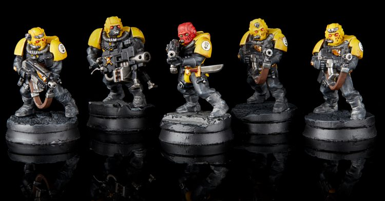 Imperial Fists Scout Squad