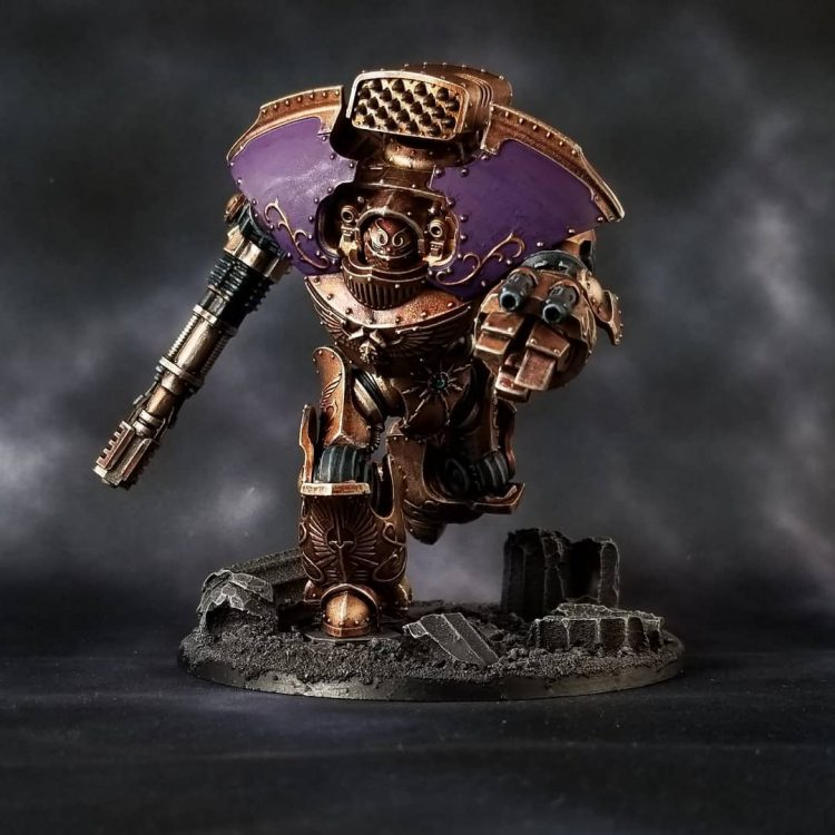 Custodes Telemon Dreadnought