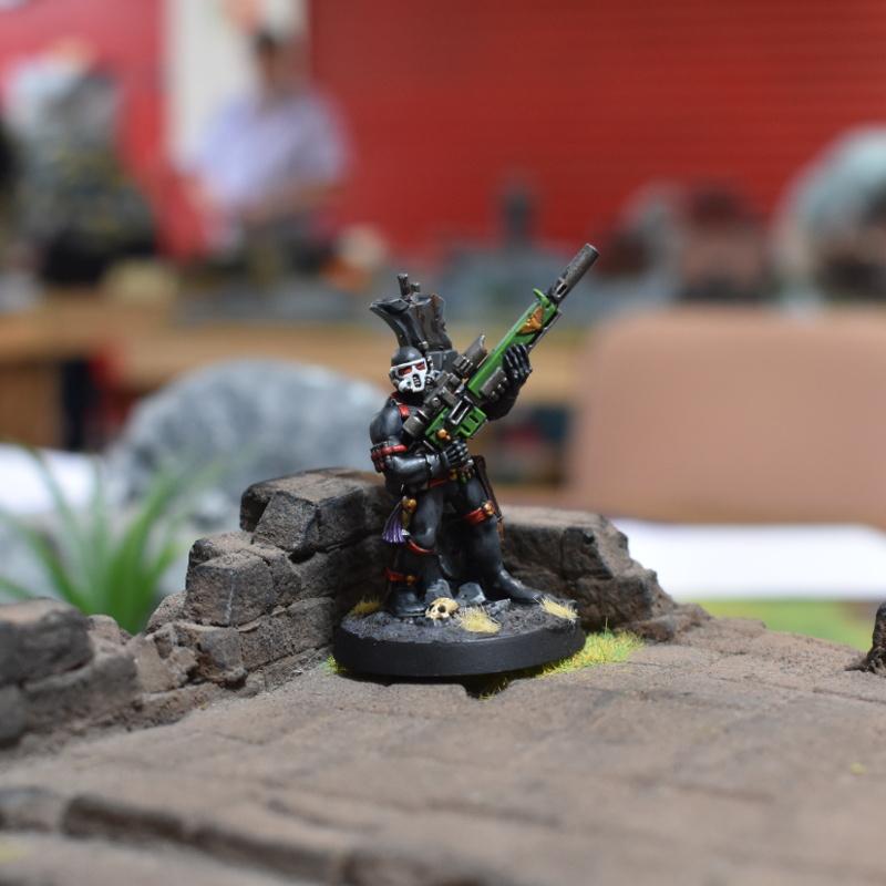 Vindicare Assassin in jungle temple