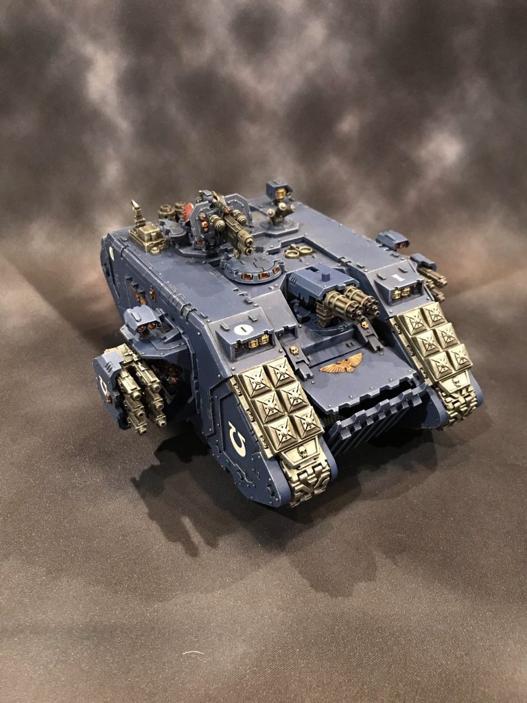 Ultramarines Land Raider Crusader