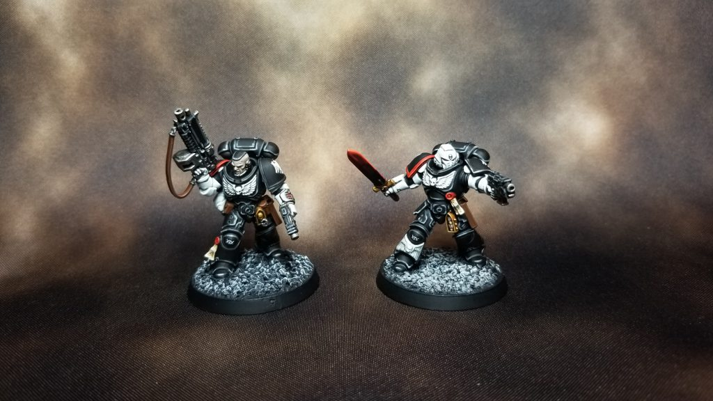 Raven Guard Primaris Lieutenants