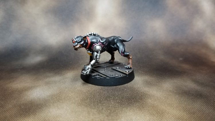 Necromunda Cyber-mastiff