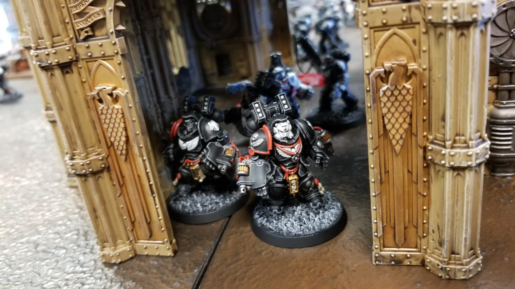 Sneaky Raven Guard Aggressors