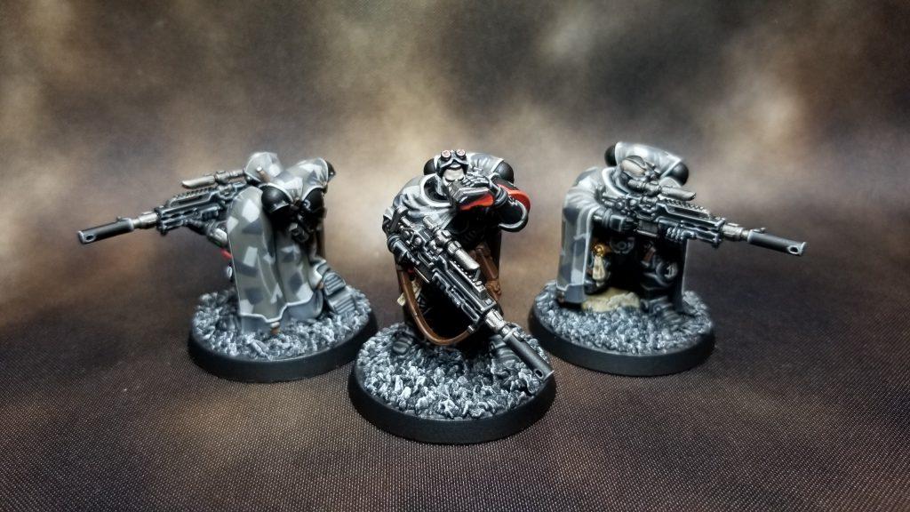 Raven Guard Primaris Eliminators