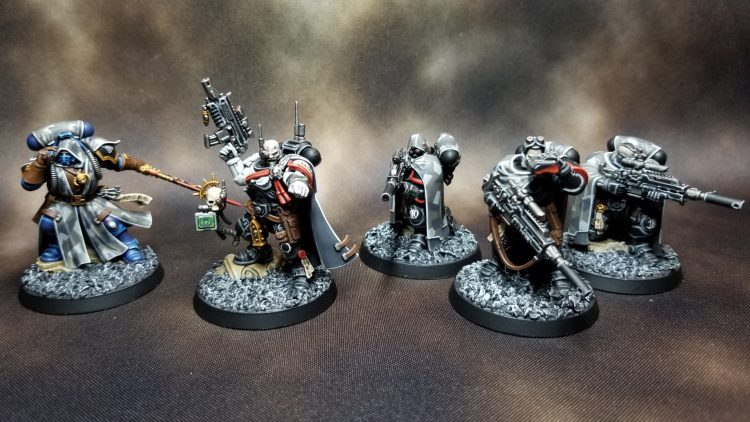 Raven Guard Phobos Units