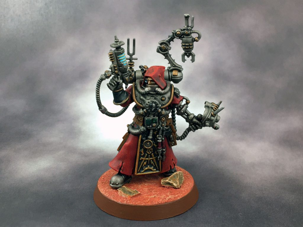 Tech Priest Daedalosus
