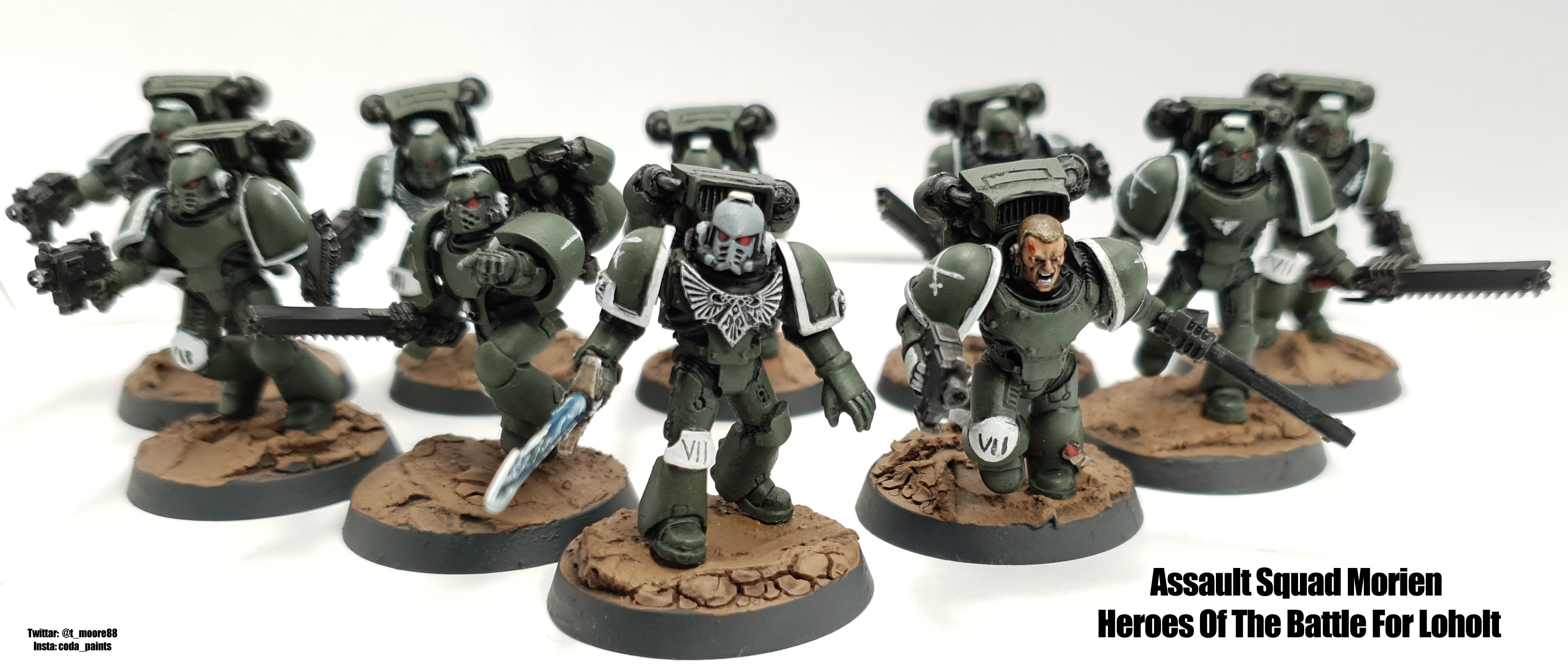 Space Marine Swords of Davion Assault Marines