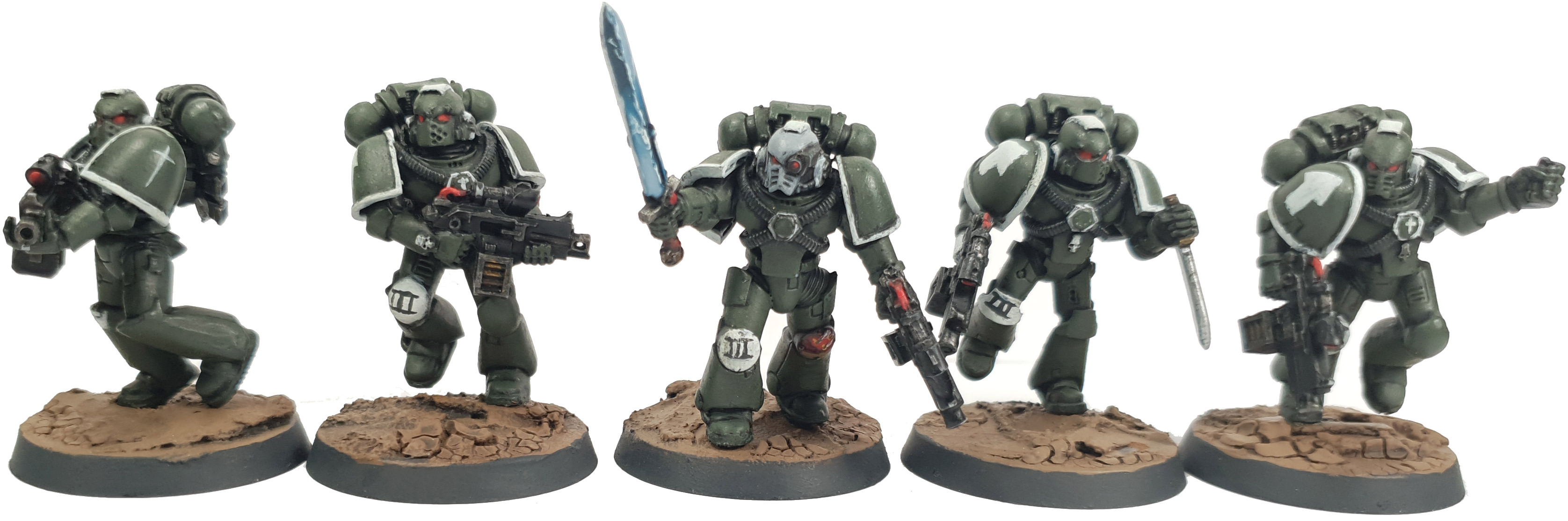 Space Marine Swords of Davion Tactical Squad