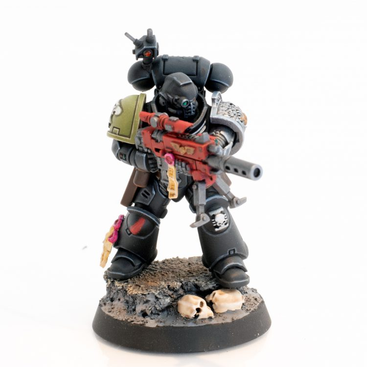 Deathwatch Raptors Sniper with Stalker Bolt Rifle
