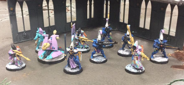 Chucat's Eldar Kill Team