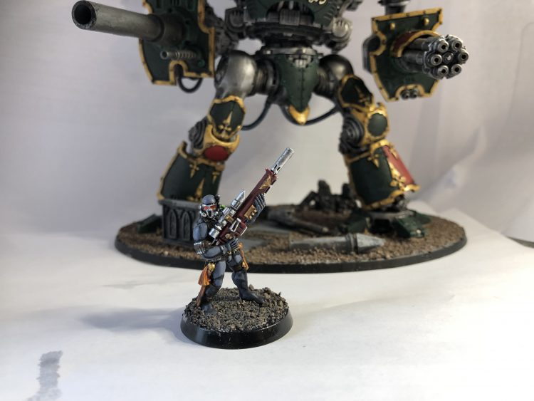 Vindicare and Knight
