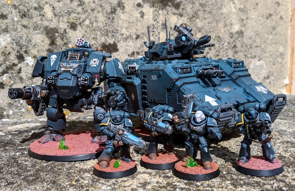 Raven Guard Heavy Forces