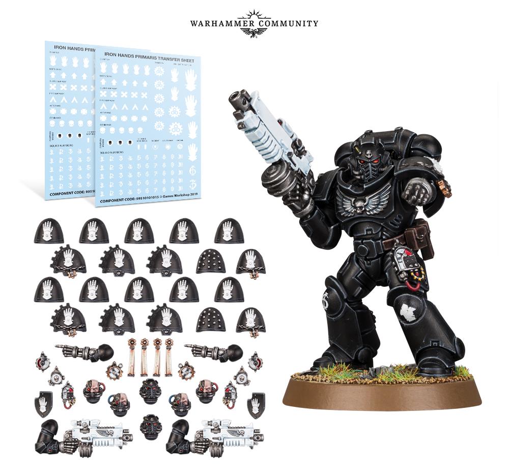 Iron Hands accessoires-Space marines-Horus Hérésie-Warhammer 40k