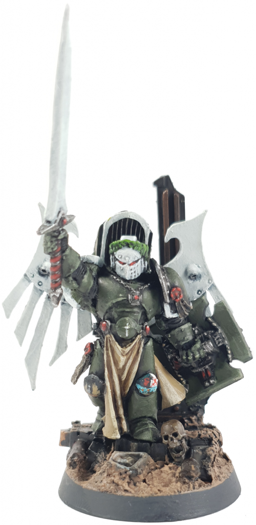Space Marine Swords of Davion Chapter Master Tiberius Rex