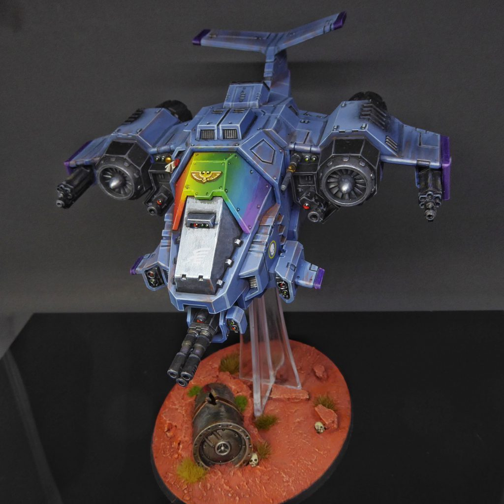 "Rainbow Warriors Stormhawk Interceptor by Craig ""MasterSlowPoke"" Sniffen"