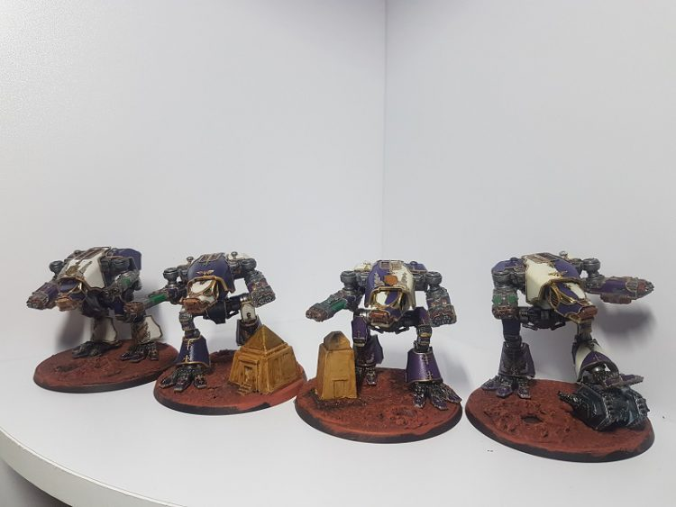 Legio Xestobiax Warhounds