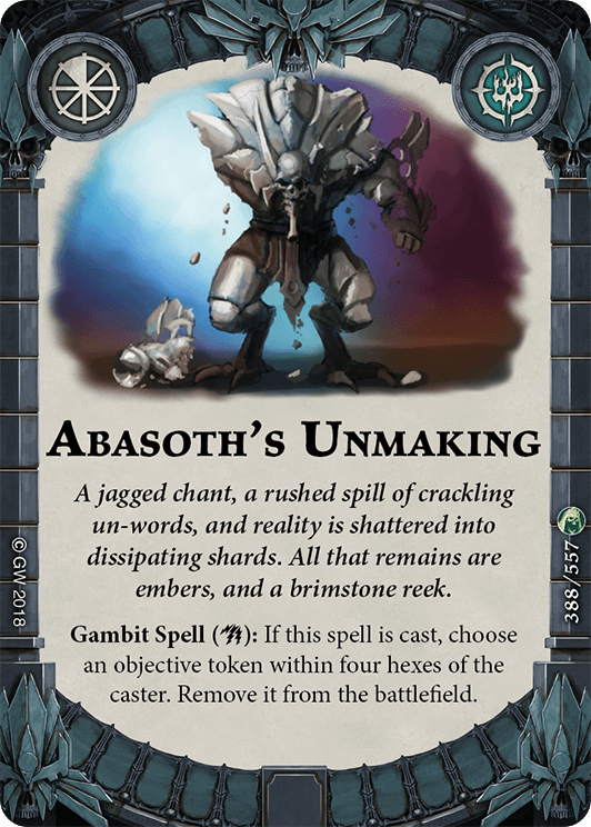 Abasoth's Unmaking