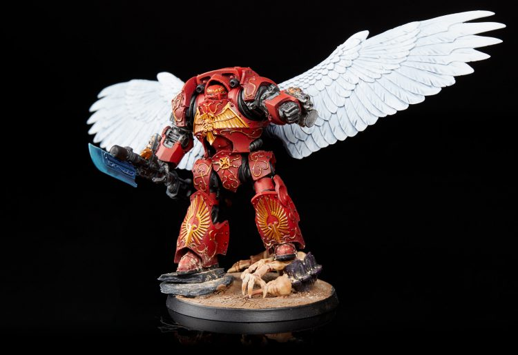 Blood Angels Librarian Dreadnought