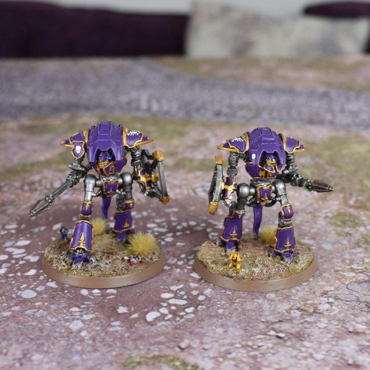 Adeptus Titanicus Cerastus Knight-Lancers