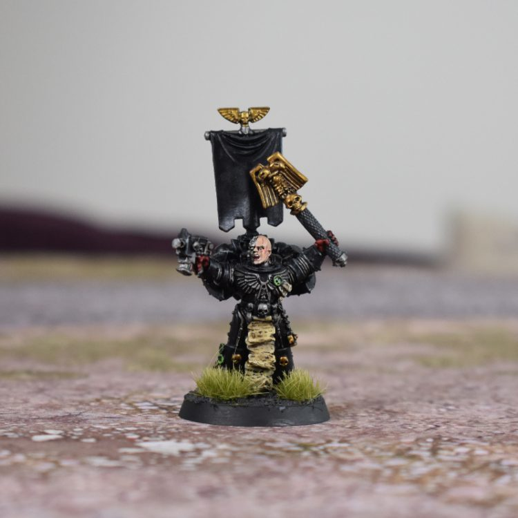 Power armoured Chaplain