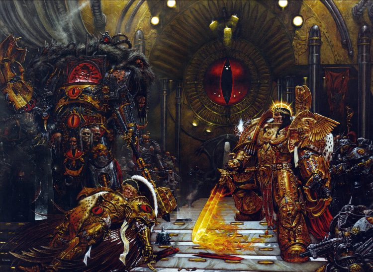 The Emperor vs. Horus