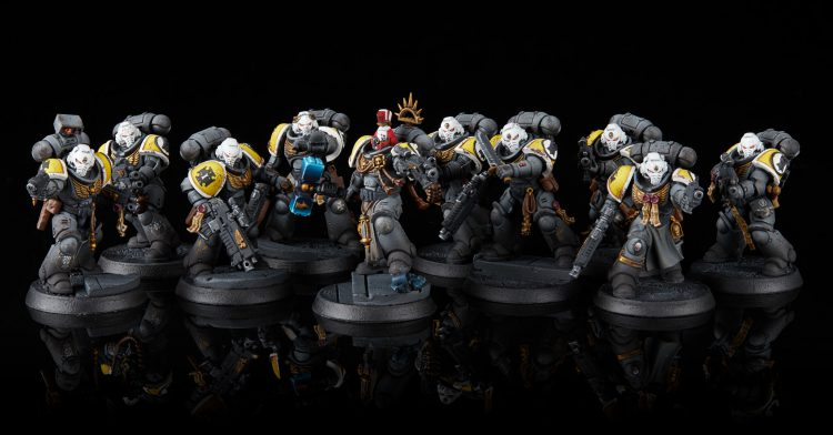 Imperial Fists Veteran Intercessors